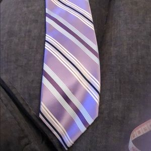 Jones New York Purple Striped Tie